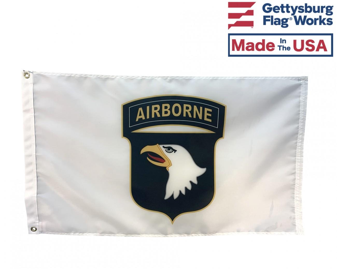 2x3' 101st Airborne Flag