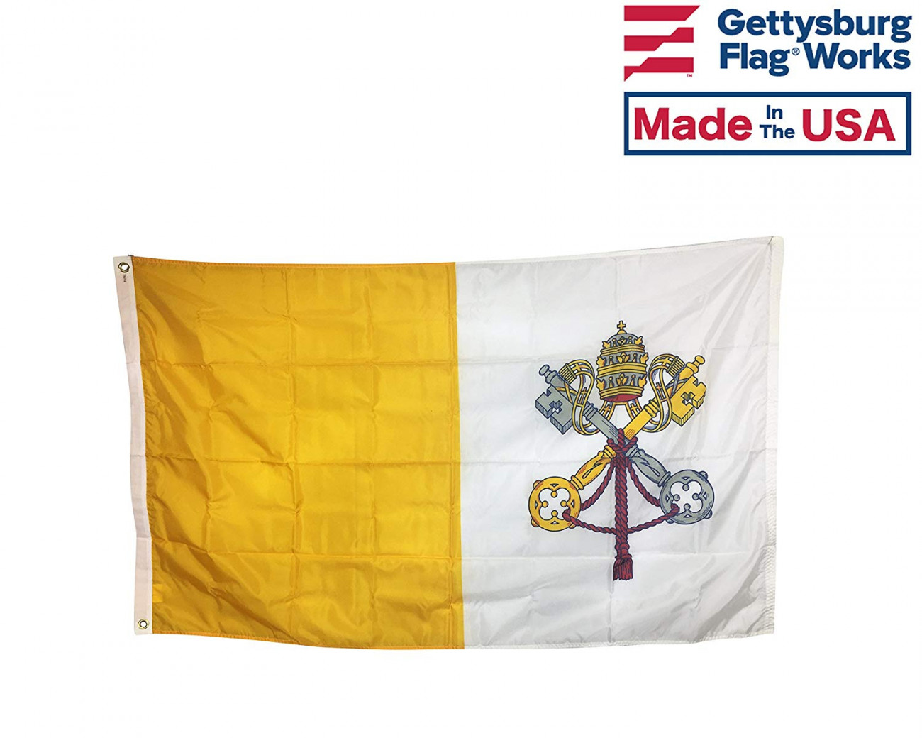 Vatican City Flag – Outdoor