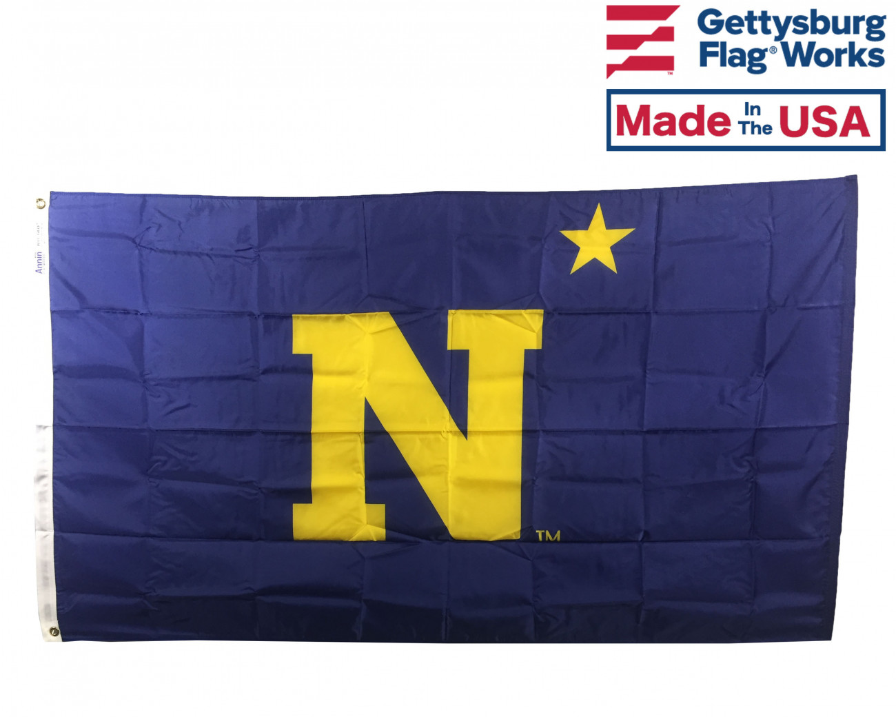 aac30816044 U.S.Naval Academy Flag - Navy Flags - Armed Forces Flags - Military    Memorial