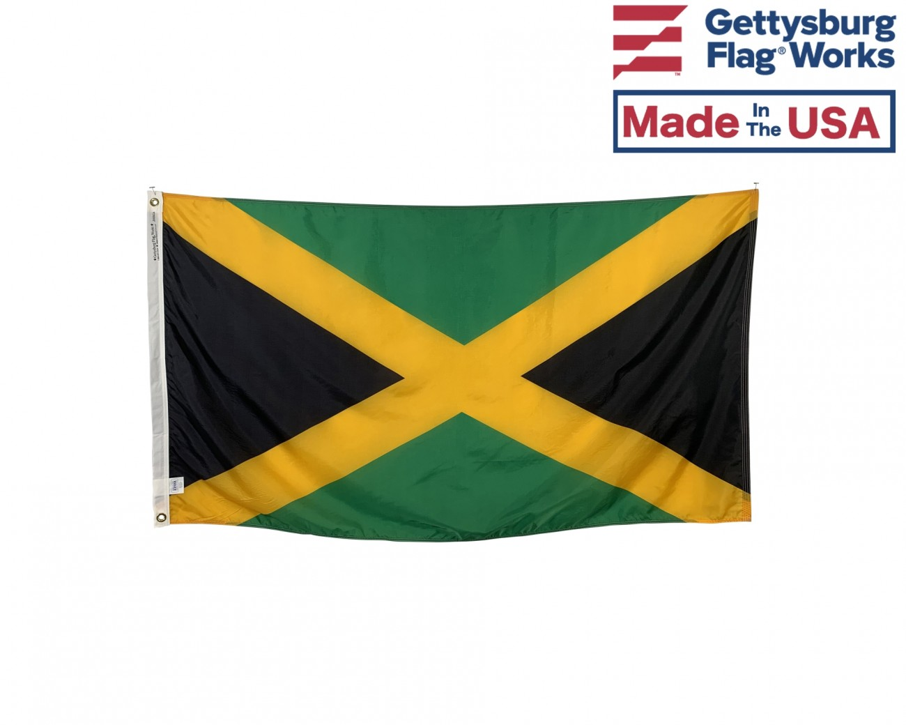 Jamaica Flag Jamaica Flags Caribbean Flags Country Flags From Around