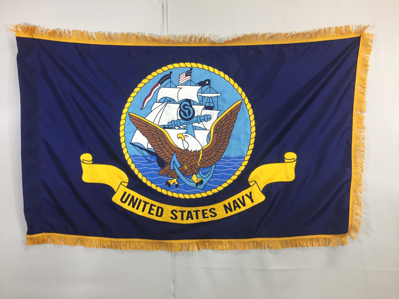 Us navy applique flags made in the usa gettysburg flag works