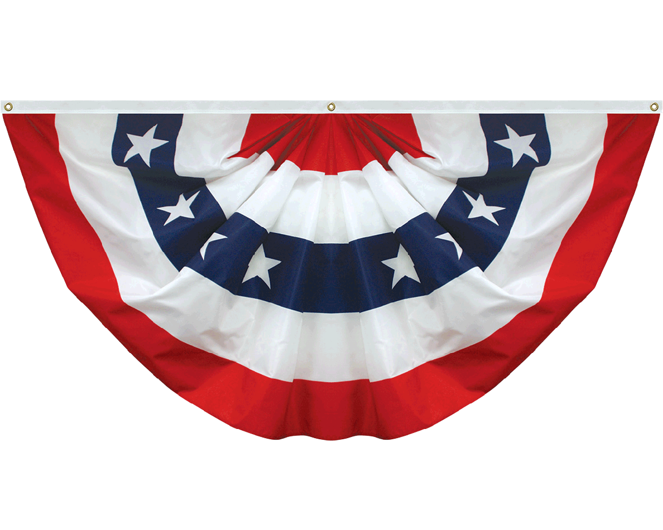 Patriotic Pleated Fan  Bunting \u0026 Pleated Fans  Flags \u0026 Banners