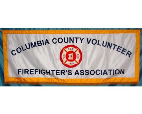 Volunteer Firefighter's Association Parade Banner