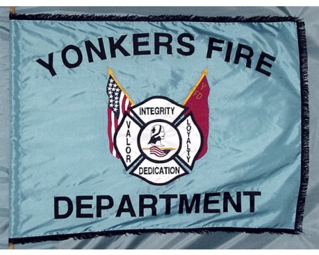 Yonkers Fire Department Parade Flag