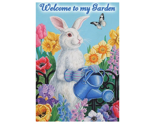 Garden Bunny House Banner