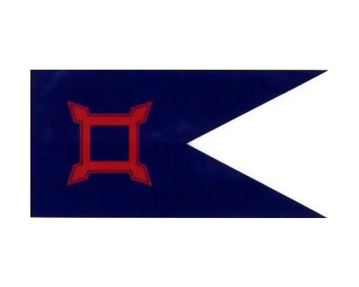 10TH CORP HQ 1864 Flag - 2.5x5'