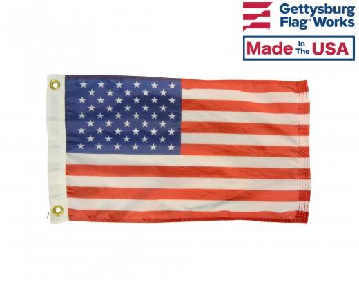 Printed American Boat Flag