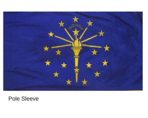Indiana Sleeve Flag