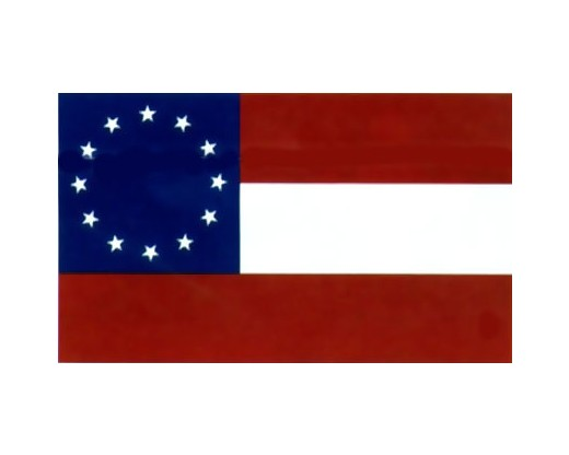 12 Stars and Bars Flag - 3x5'