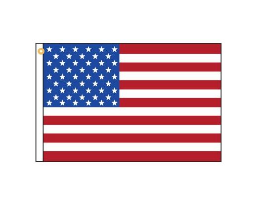 "American Motorcycle Flag - 12x18"""