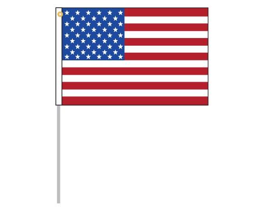 "American Motorcycle Flag Set - 12x18"""