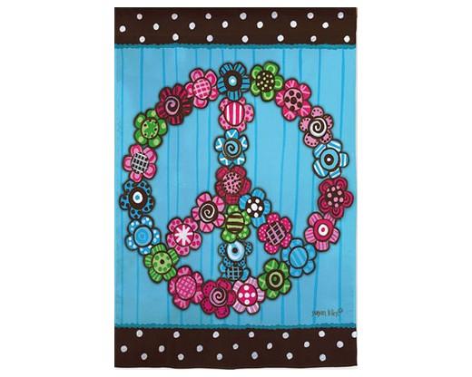 Floral Peace Flag