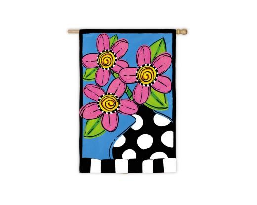 Whimsy Fleur Flag