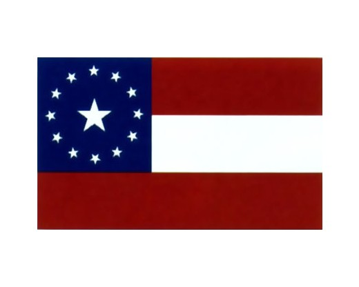 13 Stars and Bars Flag - 3x5'