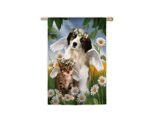 Lil' Angels Garden Flag