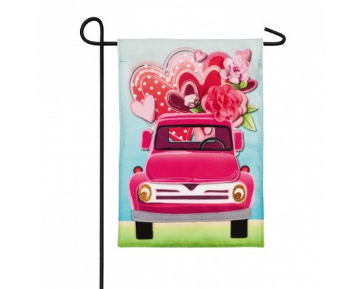 Valentines Day Loads of Love Garden Flag