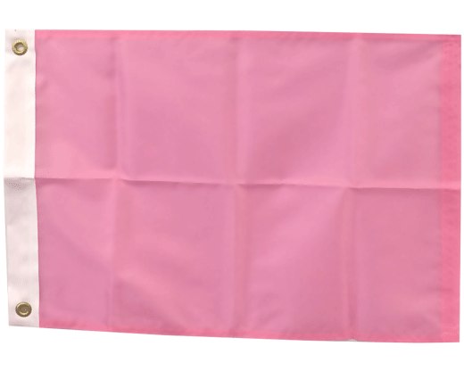 BLANK NYLON GOLF FLAG, Crocus