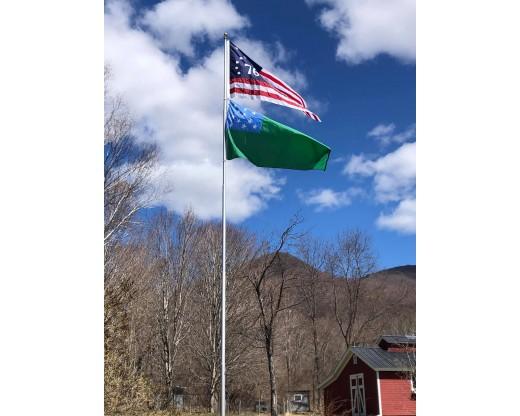 1776 and Green Mountain Boys Flag