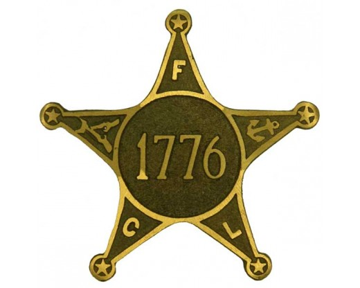 War of 1776 Veteran Bronze Grave Marker
