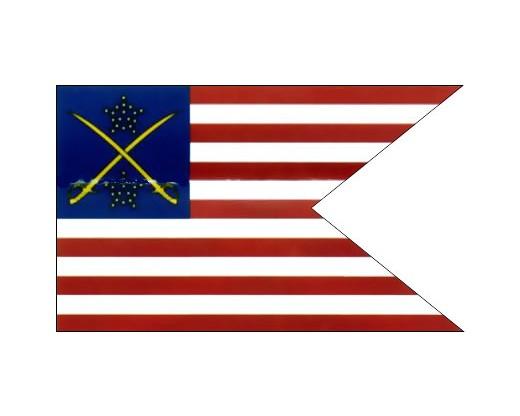 1st Cavalry DIV Guidon (1863) Flag - 3x5'