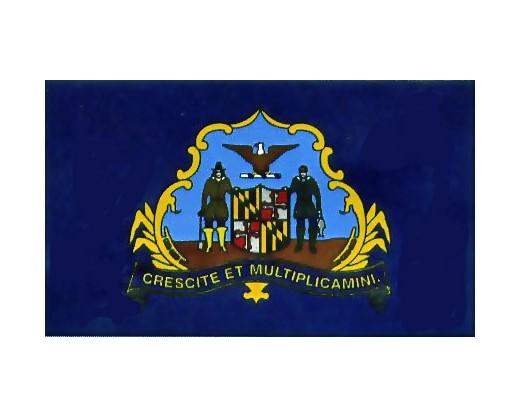 1st MD Infantry Regiment USA & CSA 1861 Flag - 3x5'