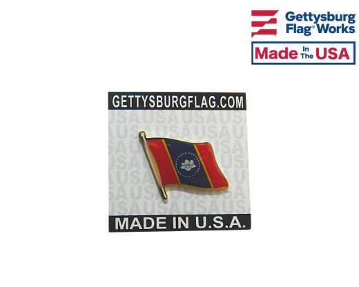 Mississippi State Lapel Pin