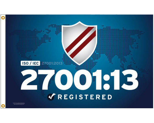 ISO 27001:13 Information technology Flag