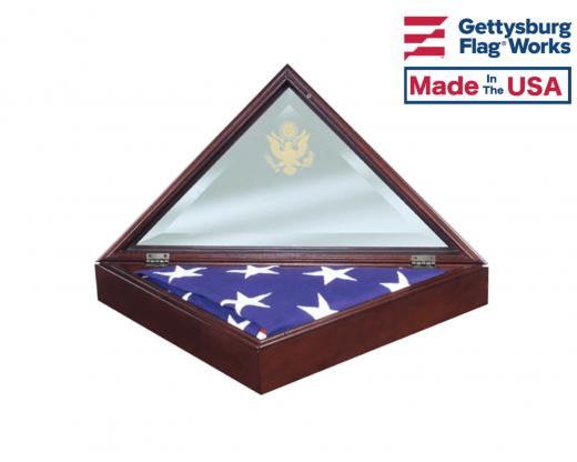 "Memorial Case ""President"" open"