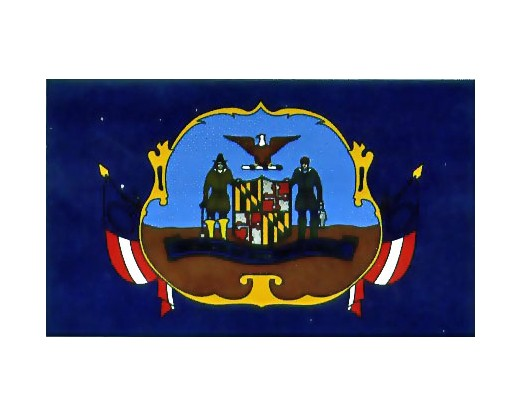 2nd MD Infantry Regiment 1861 Flag - 3x5'