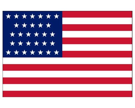 American, 31 Star Flag