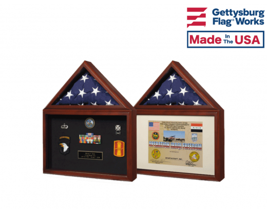 "Memorial Case ""Capitol"", Certificate Holder Cherry"