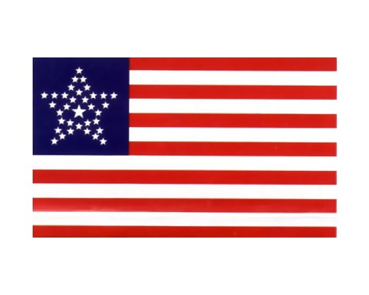 34 Star Great Star Flag - 3x5'