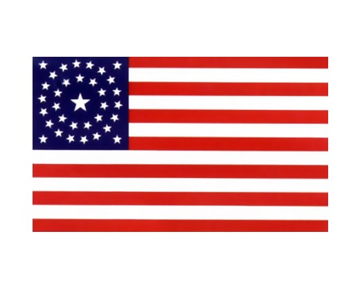 34 Star Great Star (Circle) Flag - 3x5'