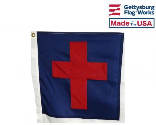 OUTDOOR CHRISTIAN FLAG