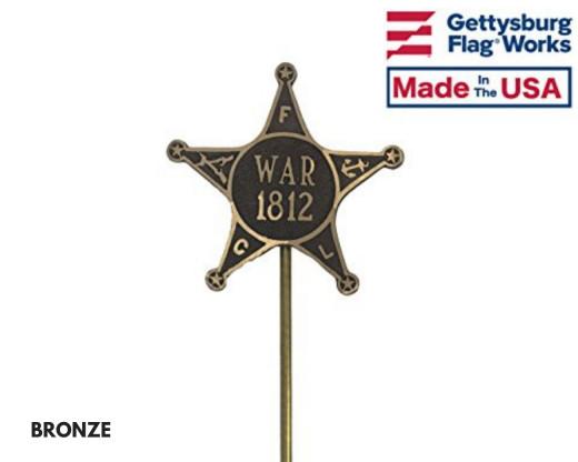 War of 1812 Grave Marker