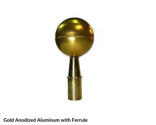 Parade Ball Finial Ornament
