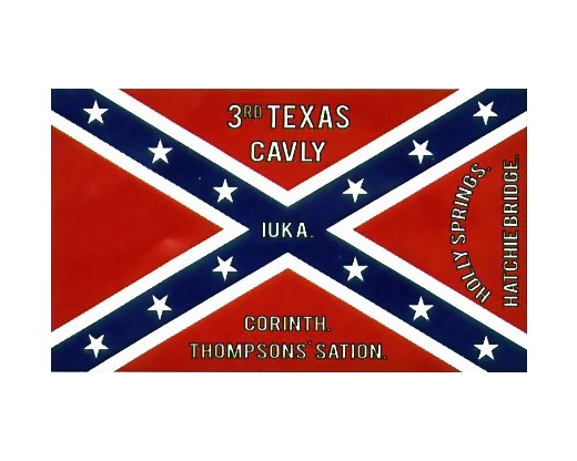 3rd TX Cavalry Flag - 3x5'