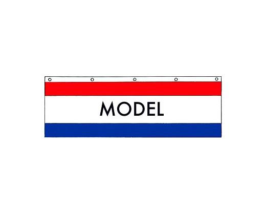 Model Banner - 3x10'