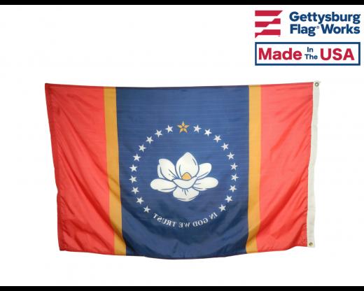 Mississippi State Flag-New Design