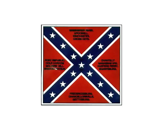 44th VA Infantry Flag - 4x4'