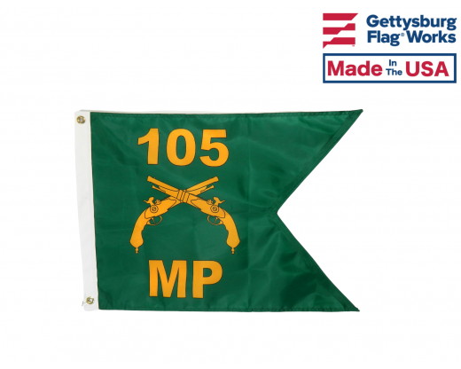 Personalized Military Police Guidon Front