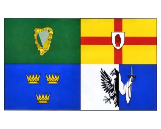 4 Irish Provinces Flag - 3x5'
