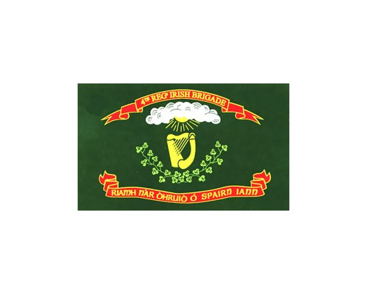 4th MA Irish Brigade Regiment Flag - 3x5'
