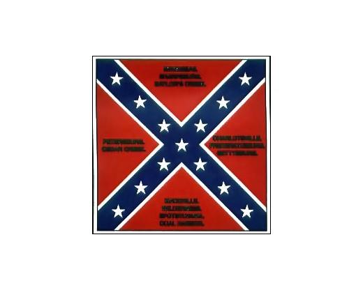 50th GA Infantry Flag - 4x4'