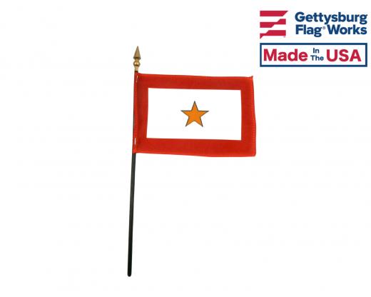 Gold Star Service Stick Flag