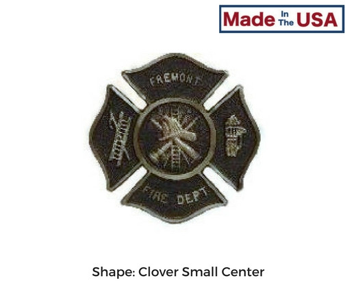 Custom Fire Department Grave Marker