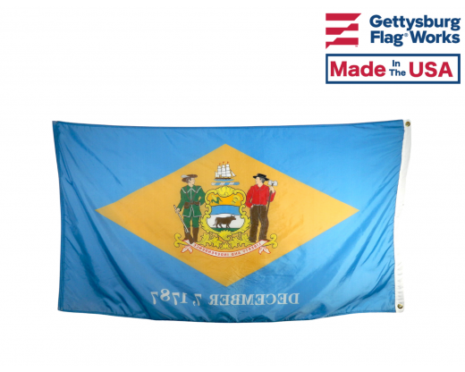 Back of Delaware Flag