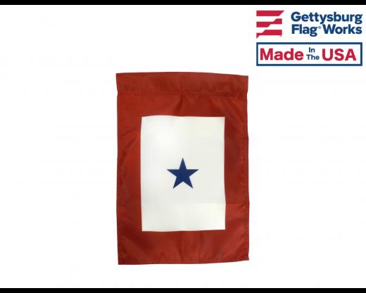 Service Star - 1 Blue Star Garden Flag