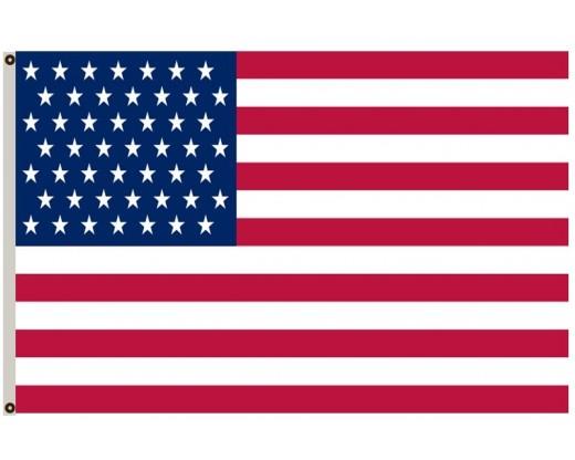American, 49 Star Flag