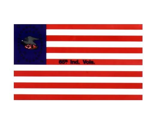 65th IND. Infantry Flag - 3x5'